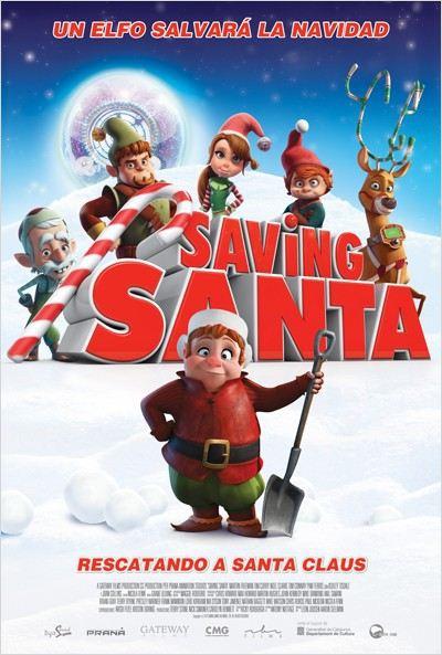 Saving Santa. Rescatando a Santa Claus (2013)