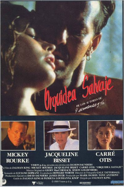 Orquídea salvaje  (1989)