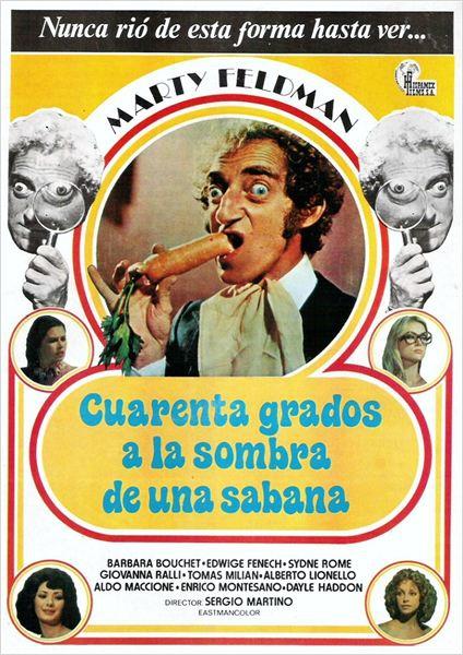 Cuarenta grados a la sombra de una sábana blanca (1975)