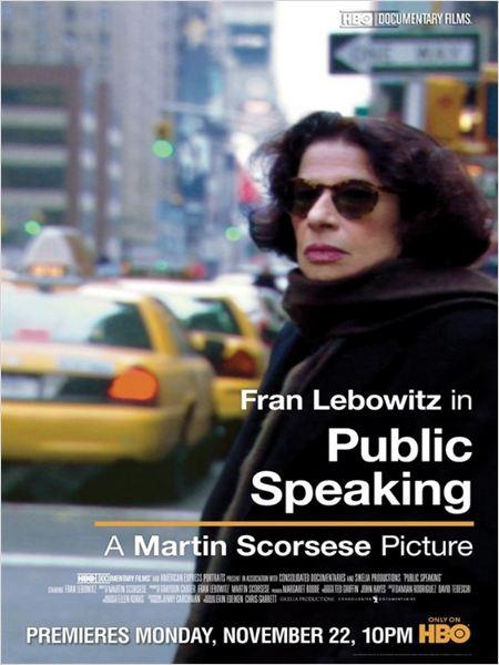 Public Speaking. Fran Lebowitz por Martin Scorsese (2010)