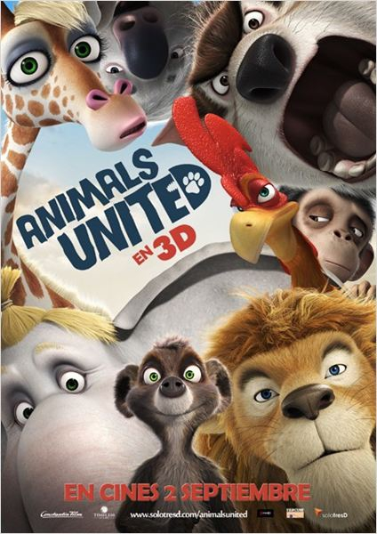 Animals United en 3D (2010)