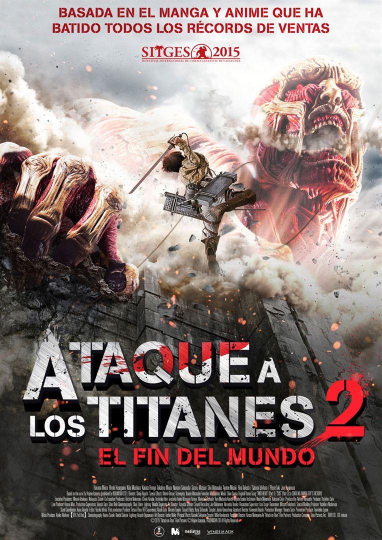 Ataque a los titanes 2: El fin del mundo  (2015)