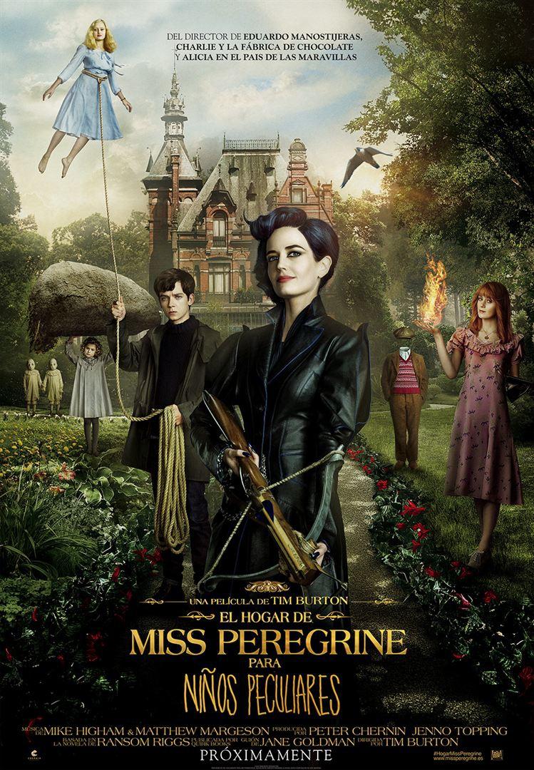 El hogar de Miss Peregrine para niños peculiares (2017)