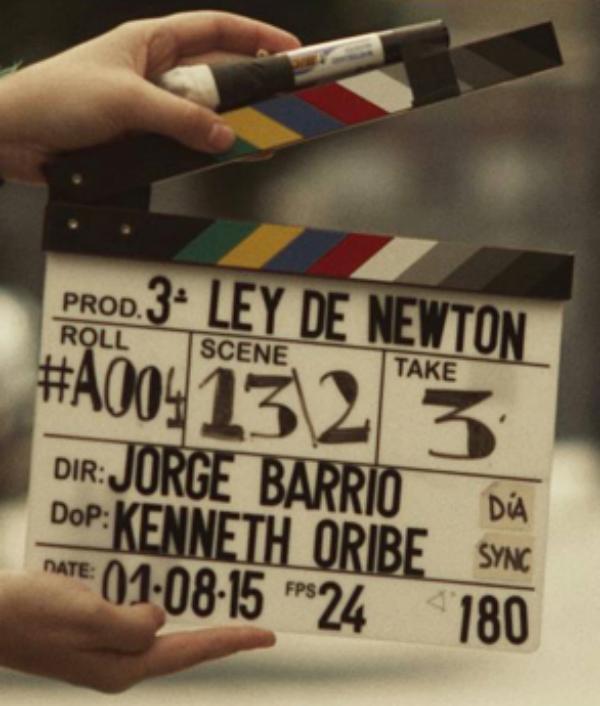 La tercera ley de Newton (2016)