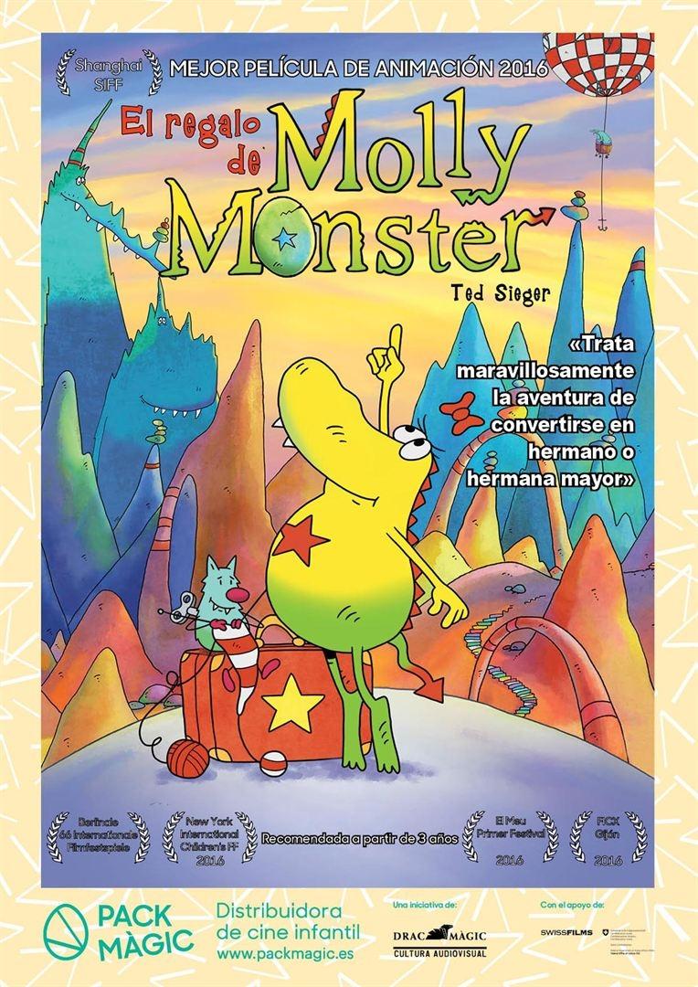 El regalo de Molly Monster (2016)