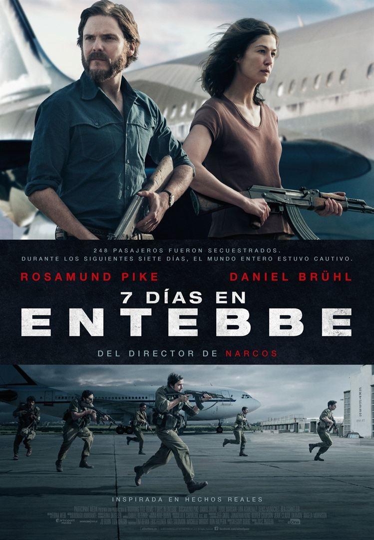 7 días en Entebbe (2017)
