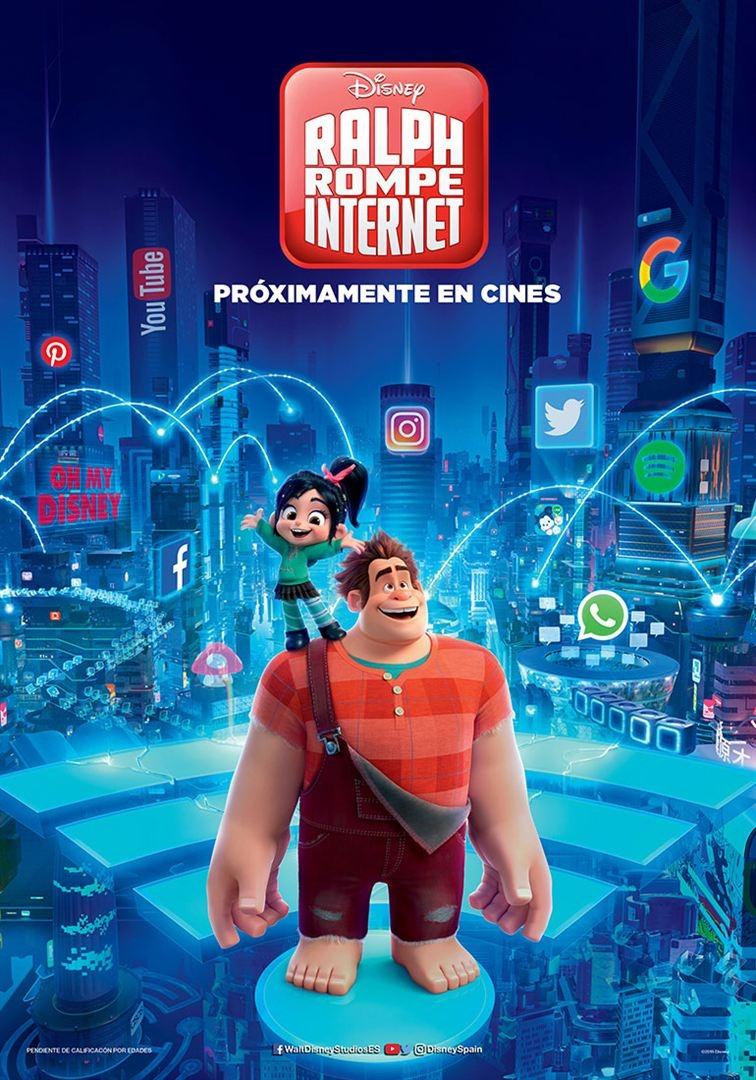 Ralph 2 rompe Internet (2018)