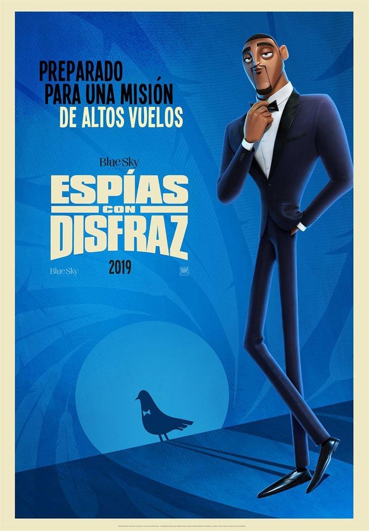 Espías con disfraz (2019)